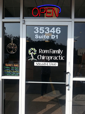 Chiropractic New Baltimore MI Front Door